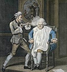 18th Century Powdered Wigs | Some tidbits about 18th century wigs...