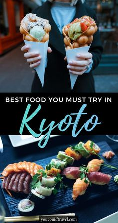 The Best Kyoto Food You Need to Try - Wondering what to eat in Kyoto? Check out our complete list of Japanese dishes you should try during your Kyoto trip. Plus bonus restaurant recommendations in Kyoto. #japan #kyoto #food #JapanTravelItinerary