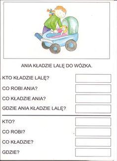 Użyj STRZAŁEK na KLAWIATURZE do przełączania zdjeć Polish Language, Asd, Comprehension, Autism, Hand Lettering, Diy And Crafts, Writing, Education, Reading