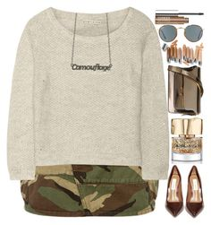 """""""To my 30 000 followers"""" by grozdana-v ❤ liked on Polyvore featuring Yves Saint Laurent, Alice + Olivia, Patrizia Pepe, Ray-Ban, Smith & Cult, Steve Madden, Marni and Clinique"""