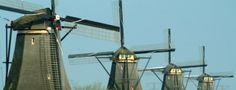 Windmills of Holland - Ferry Crossings | Harwich to Hook of Holland #ferrycrossings