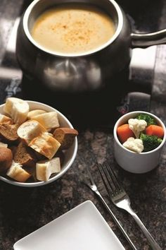 The Melting Pot offers recipes and tips for making great fondue for your holiday guests.
