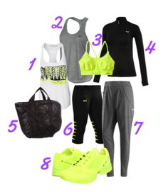 Chic workout wear I dream out loud !!!  I WANT.