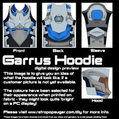 Ladies Small Garrus and Thane Reversible Hoodie. £71.00, via Etsy.