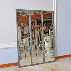 Atelier and m taux on pinterest for Miroir atelier chehoma