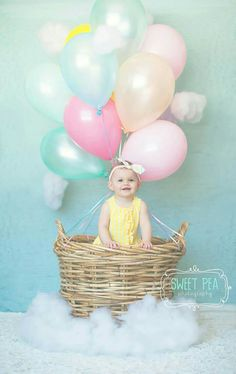 Cutest thing ever! Perfect for a birthday photoshoot