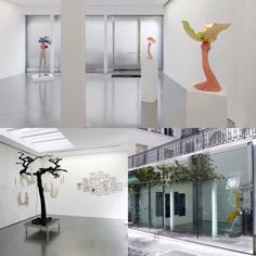 Just a few blocks from la Maison Saint Germain , the gallery Loevenbruck exhibits French artists. Indeed, the contemporary art shines in this unique space, a bright and clean gallery. A nice programming with a delicious scent of irony that characterizes this secret place.