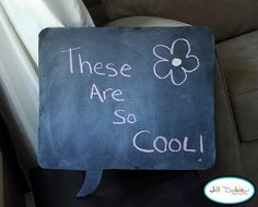 diy speech bubbles for taking pictures