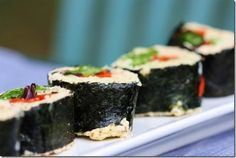 Raw Parsnip Sushi Rice (via choosing raw blog/vital juice newsletter)