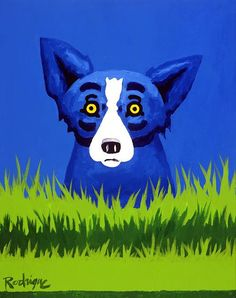 Blue Dog By George Rodrigue Is Every Louisiana Girlu0027s Companion. Iu0027m Sure Blue  Dog Would Enjoy The View Of The Lake From My Kitchen!