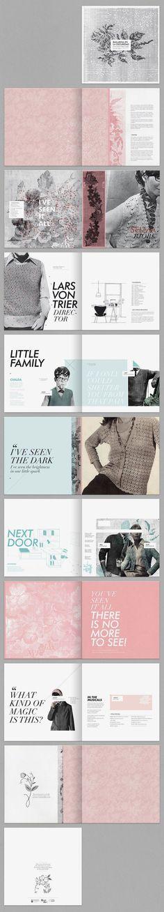 Layout Design` / Karina Cukierman / Dancer in the Dark #graphic #design #editorial: