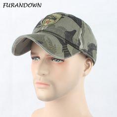 89a85ca0f78 FURANDOWN Men Trucker Cap Top Quality Army Snapback Caps Hunting Fishing Hat  Outdoor Camo Baseball Caps Adjustable-in Baseball Caps from Men s Clothing  ...