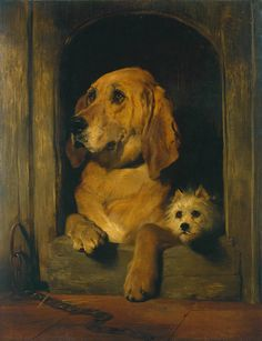 Cave to Canvas, Sir Edwin Henry Landseer, Dignity and Impudence,...