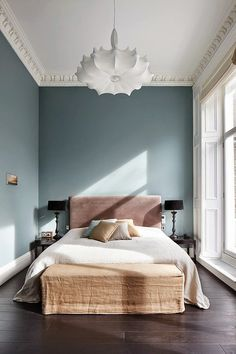 London house. Wall colour.
