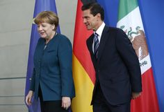 April 12 - #Mexico's President Enrique Peña Nieto met with #Germany's Minister for Economic Affairs and Energy Sigmar Gabriel. During the course of the talks, agreements were reached to expand #energy cooperation between the 2 countries and to implement new business training programs. The German Minister also announced the signing of 2 agreements on developing #renewable energies and energy efficiency.