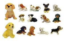 Adopt A Puppy Figures - Set Of 14 Vending Machine Toys, 2015 Amazon Top Rated Party Favors #SingleDetailPageMisc