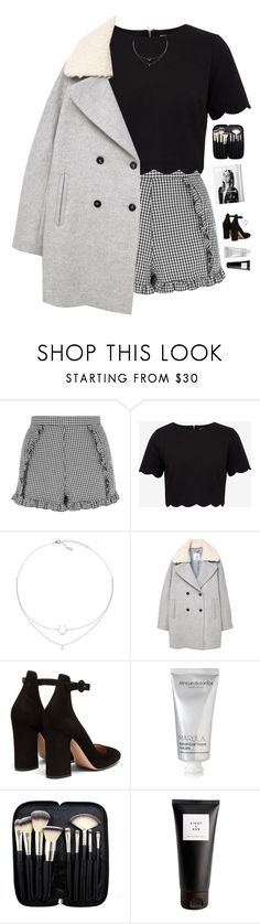 """Give love a chance"" by genesis129 on Polyvore featuring Topshop, Ted Baker, MANGO, Gianvito Rossi, African Botanics, Morphe, Eight & Bob and vintage"