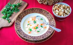 ... polievka, ktorá ohlasuje Vianoce , #Vianočnérecepty Cereal, Breakfast, Food, Morning Coffee, Meals, Yemek, Corn Flakes, Eten, Breakfast Cereal