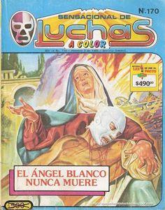 Sensacional de Luchas comic book