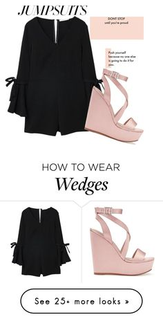 """""""Untitled #328"""" by majestueuse on Polyvore featuring MANGO, Miss Selfridge and jumpsuits"""