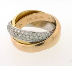 trinity de cartier bling pinterest trinity ring and