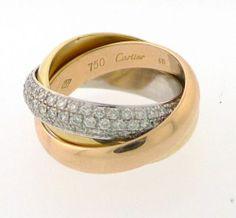 trinity de cartier bling pinterest trinity ring and