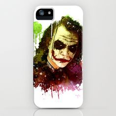 Joker iPhone & iPod Case by Sirenphotos - $35.00