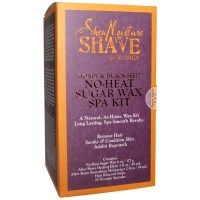 Shea Moisture, Shave, No-Heat Sugar Wax Spa Kit, For Women, Honey & Black Seed, 1 Kit
