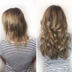 Hair Extensions Auburn Red Hair Extensions Under 10 Dollars Fusion Hair Extensions, Hair Extensions For Short Hair, Blonde Hair Extensions Before And After, I Tip Hair Extensions, Bob Hairstyles For Fine Hair, Trendy Hairstyles, Hair Design, Short Thin Hair, Thick Hair