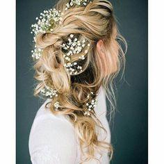 «Цветы в волосах !»