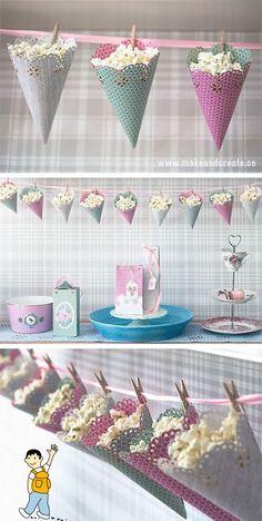 Ideas decoración fiesta primera comunión con niños.