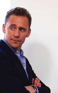 Tom Hiddleston for The Wrap https://www.youtube.com/watch?v=RhNTH6svKsE