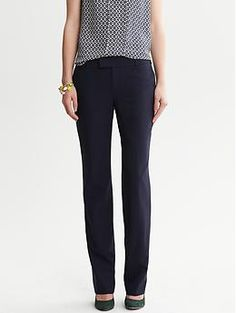 Or maybe these -- much better reviews! Martin-Fit Navy Lightweight Wool Straight Leg - Pants