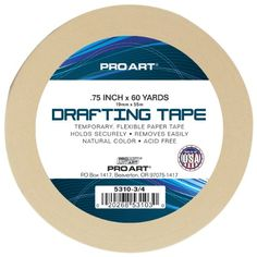 #fashion Pro Art #drafting tape designed for temporary adhesive #needs, such as holding drawings, blueprints or tracings to drawing boards. This thin, conformable...