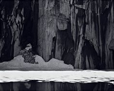 Frozen Lake and Cliffs, The Sierra Nevada, Sequoia National Park, California, 1932