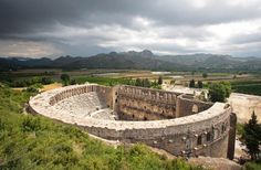 Aspendos Theatre - Antalya - Turkey http://www.turkish-property-world.com/side_property.php