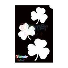 Glimmer Body Art Glitter Tattoos - Shamrocks (10/pack) by Glimmer Body Art…
