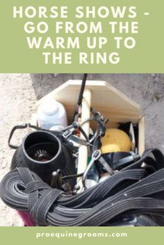 Pro Equine Grooms - Warm Up Ring Tips