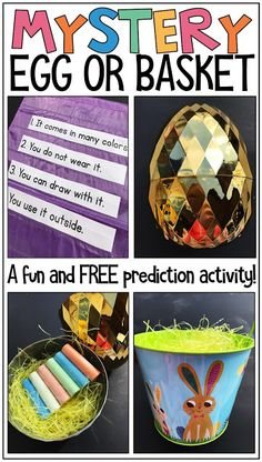 Mystery Egg - Easter Clue Solving FUN!