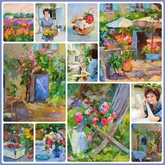 Painting France Online with Dreama! Learn More at DreamaTollePerry.com