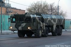 Iskander Tactical Ballistic Missile System - Russia