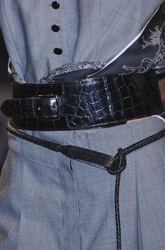 Hermès Spring 2011 - Details Ceintures, Ceinture Foulard, Veste Sur Mesure,  Couture Vintage e7a44c55a55