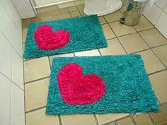 Pom Pom Crafts, Black Rug, Punch Needle, Bathroom Sets, Rug Hooking, Lana, Oxford, Carpet, Textiles