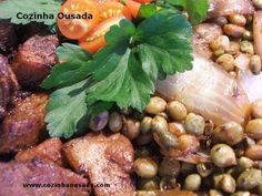 Cozinha Ousada: Lombo Suino com Feijão Guandu
