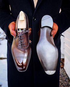 Handmade leather shoes for sale Mens Shoes Boots, Leather Boots, Shoe Boots, Big Men Fashion, Mens Boots Fashion, Gents Shoes, Men Dress, Dress Shoes, Dress Clothes
