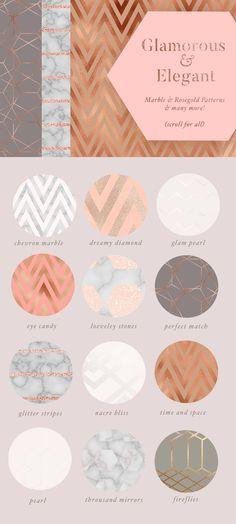 70 Gold Textures & Veined Marbles by Laras Wonderland on @creativemarket