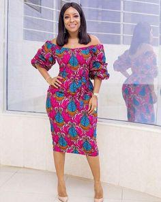Joselyn Dumas ankara dress, African fashion, Ankara, kitenge, African women dres… by laviye at Diyanu African Dresses For Women, African Print Dresses, African Attire, African Fashion Dresses, African Wear, African Women, African Prints, African Style, Ankara Fashion