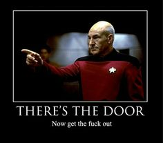 Jean-Luc Picard from Star Trek: The Next Generation may be the most iconic character of all-time. Patrick Stewart plays the passive, thought. Patrick Stewart, Star Wars, Earl Gray, Across The Universe, To Infinity And Beyond, I Laughed, Sci Fi, At Least, Jokes