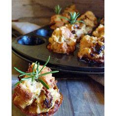 Knusprige Mini-Muffins mit Pancetta und getrockneten Tomaten...das passende vielleicht für das Silvester-Buffet?#silvester #happynewyearseve #muffin #mini #foodblog #instagramfood #food #deliciously #delicious #yummy #deliciousdishesaroundmykitchen