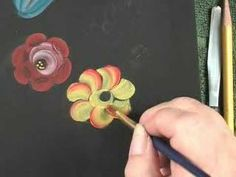 Freehand Rosemaling Tutorial